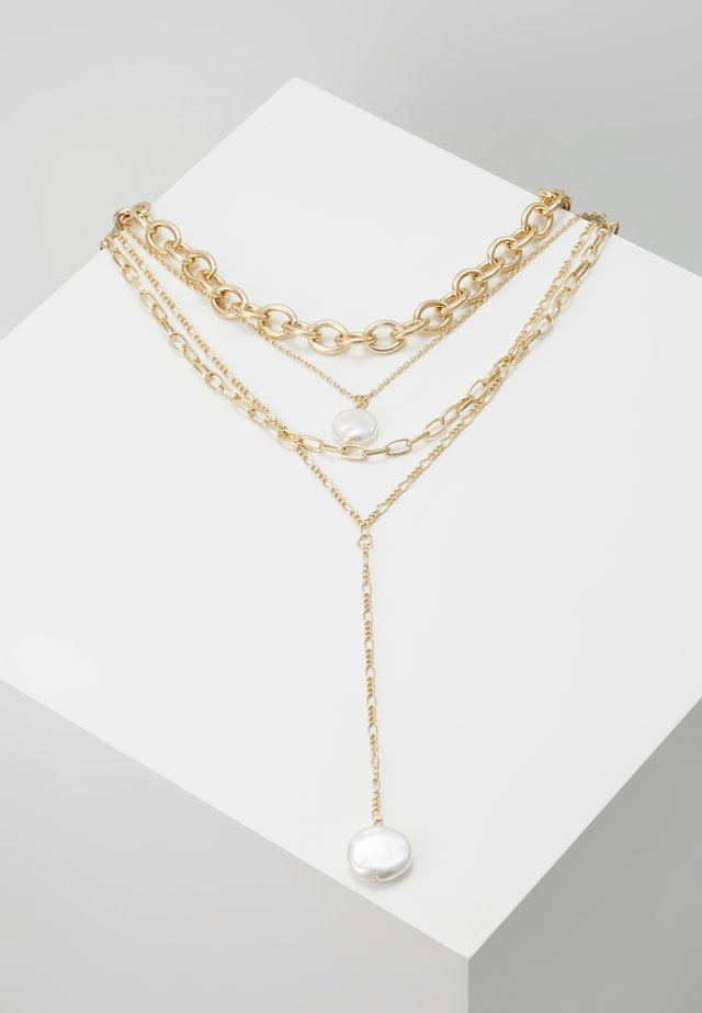 MIX PEARL - Necklace - cream