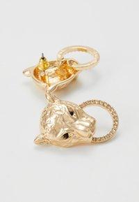 Topshop - LEOPARD PAVE - Korvakorut - gold-coloured - 2