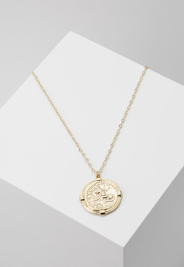 LARGE COIN  - Necklace - gold-coloured