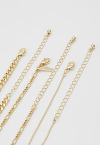 Topshop - THIN BALL 3 PACK  - Halsband - gold-coloured - 3