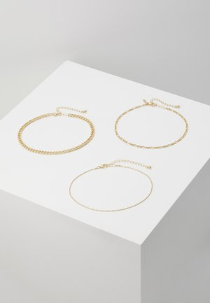 THIN BALL 3 PACK  - Collier - gold-coloured
