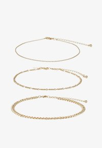 Topshop - THIN BALL 3 PACK  - Halsband - gold-coloured - 1