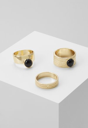 3PACK  - Ring - gold-coloured