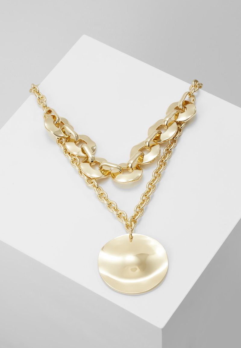 Topshop - STATEMENT CHUN - Ketting - gold-coloured