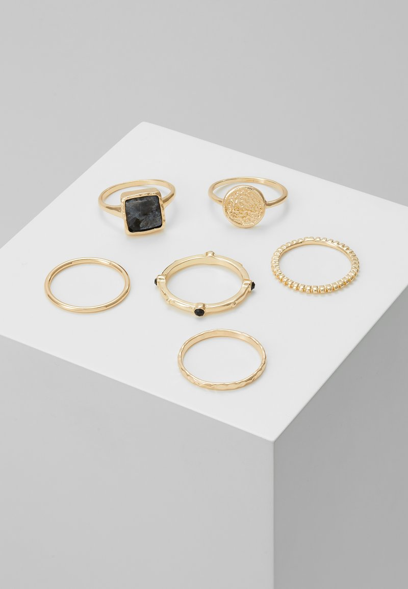 Topshop - NEW TRAVELLER 6 PACK - Ring - gold-coloured