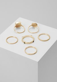 Topshop - NEW TRAVELLER 6 PACK - Ring - gold-coloured - 2
