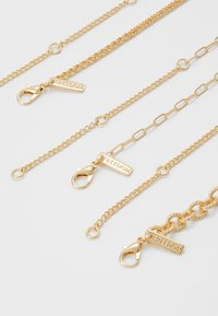 Topshop - CLEAR BEAD 3 PACK - Necklace - gold-coloured - 1