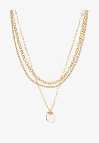 Topshop - CLEAR BEAD 3 PACK - Necklace - gold-coloured - 2