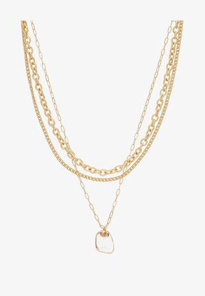 CLEAR BEAD 3 PACK - Necklace - gold-coloured
