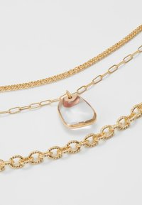Topshop - CLEAR BEAD 3 PACK - Necklace - gold-coloured - 3