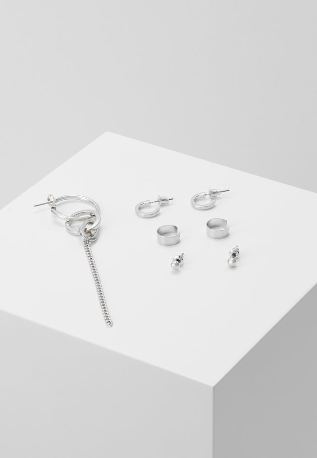 URBAN EAR SET - Earrings - silver-coloured