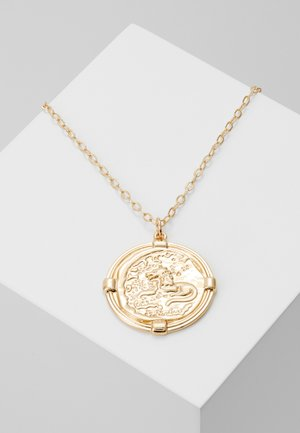 FRLARGE COIN - Necklace - gold-coloured