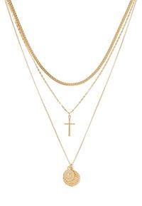Topshop - FRCOIN CROSS  - Collar - gold-coloured - 3