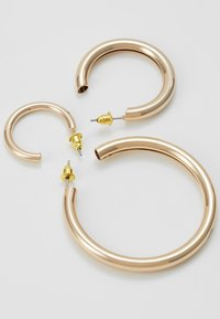 Topshop - THICK HOOP 3 PACK - Korvakorut - gold-coloured - 2