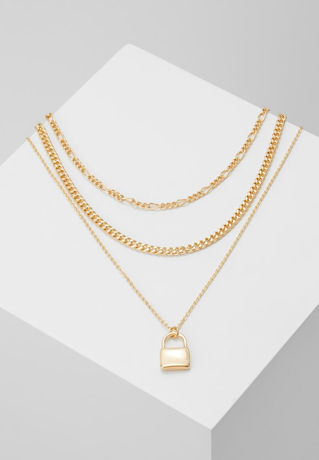 PADLOCK - Collar - gold-coloured