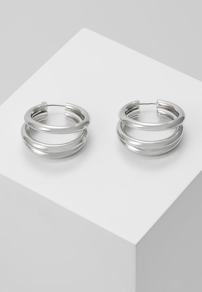 Topshop - WIN TUBE HOO - Orecchini - silver-coloured