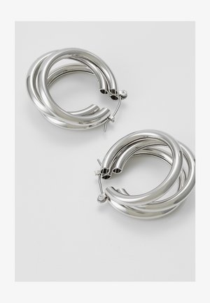 WIN TUBE HOO - Pendientes - silver-coloured