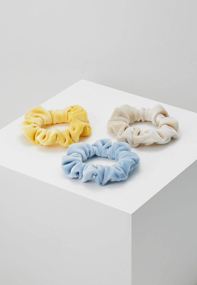 MIXED 3 PACK - Hair Styling Accessory - blue/yellow/beige
