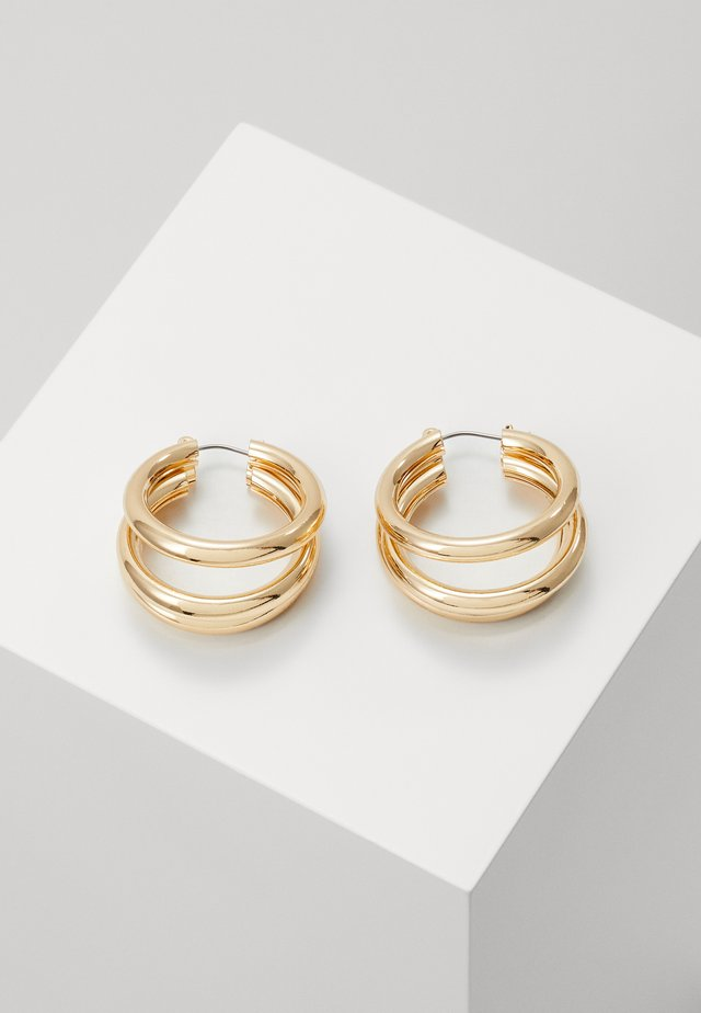 WIN TUBE HOO - Earrings - gold-colored