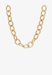 Topshop - CHUNKY - Necklace - gold-coloured