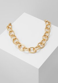 Topshop - CHUNKY - Necklace - gold-coloured - 0