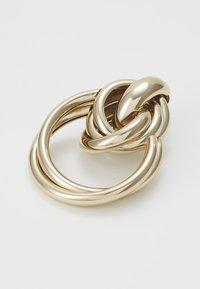 Topshop - MULTI LINK DOO - Orecchini - gold-colored - 2