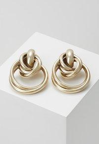 Topshop - MULTI LINK DOO - Orecchini - gold-colored - 0
