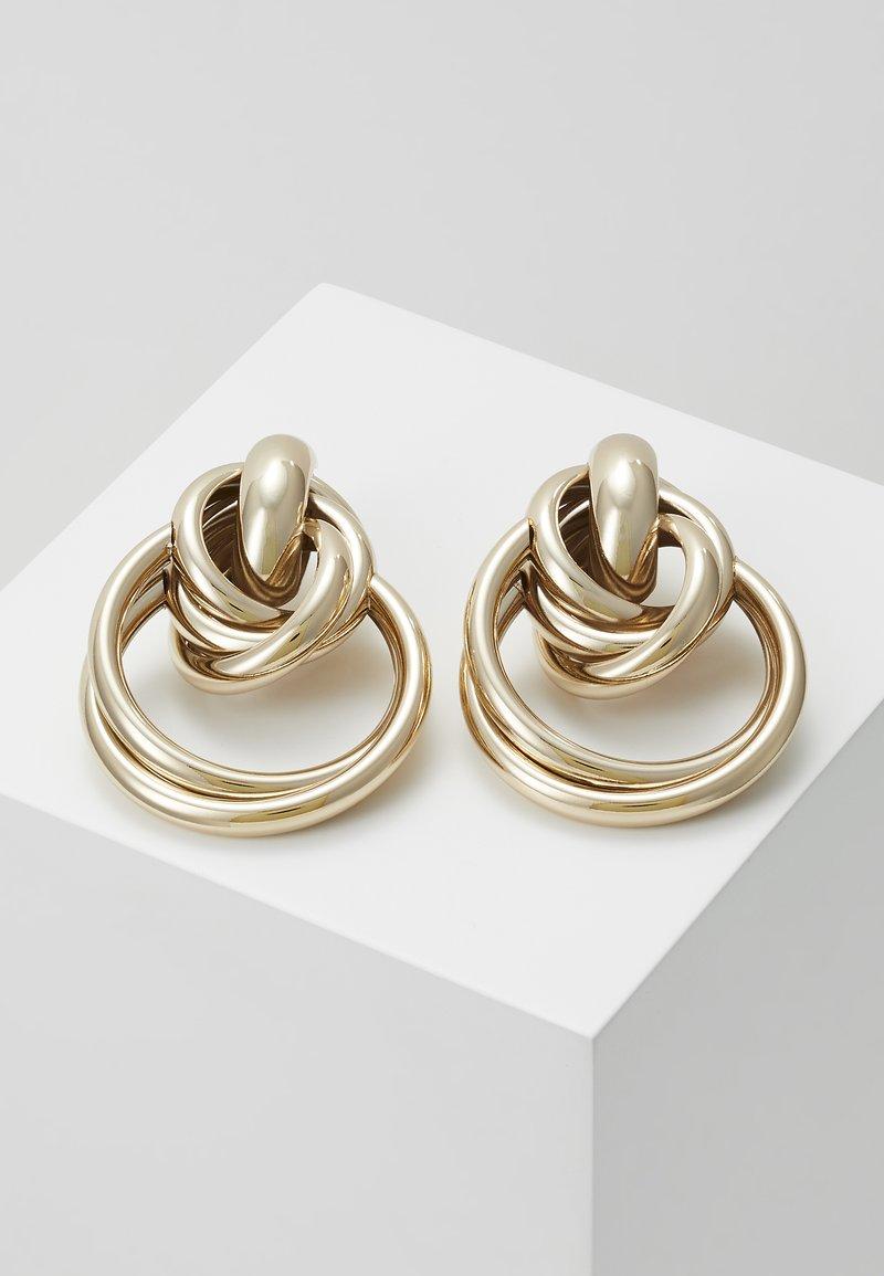 Topshop - MULTI LINK DOO - Orecchini - gold-colored