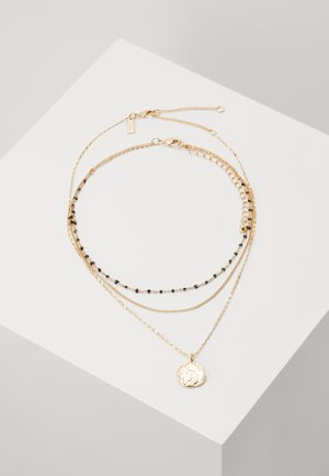 SPOT CHOKER 2 PACK - Necklace - gold-colured