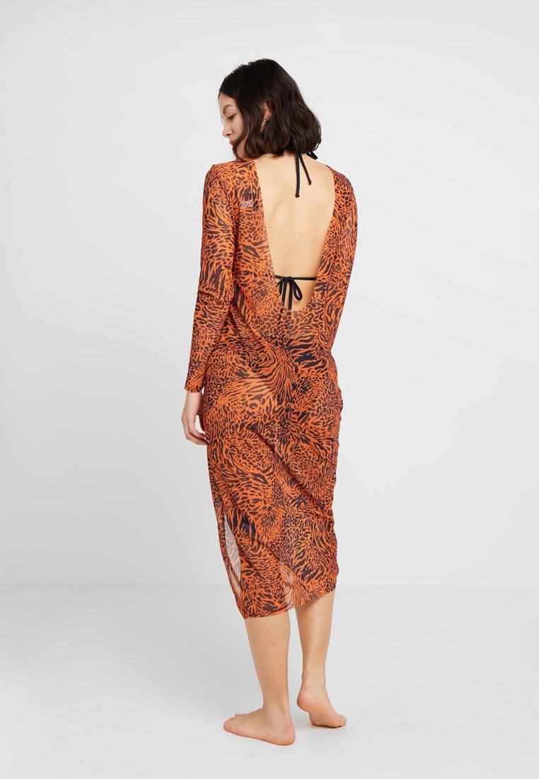 Topshop - ANIMAL MAXI - Complementos de playa - tan
