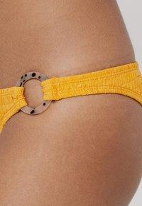 Topshop - TORTOISE RINGPANT - Braguita de bikini - saffron - 4
