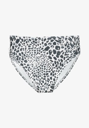 HIGH WAIST PANT - Bikini bottoms - monochrome