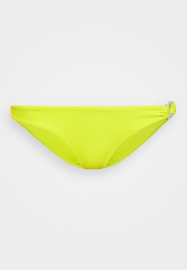 CRINKLE RING CLASSIC PANT - Braguita de bikini - yellow