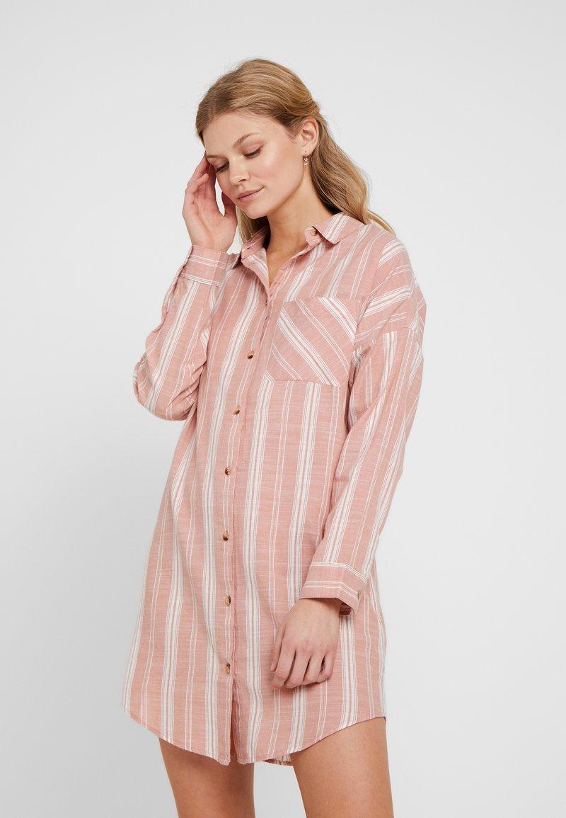 Topshop - STRIPE OVERSIZE - Nightie - pink