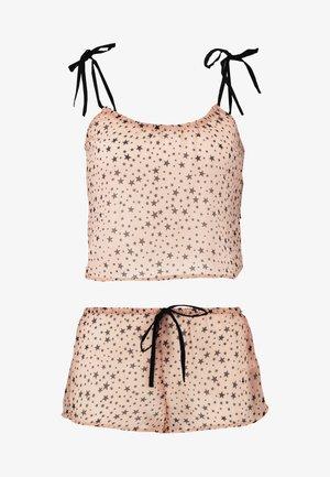 SHEER STAR SET - Pyjama - nude