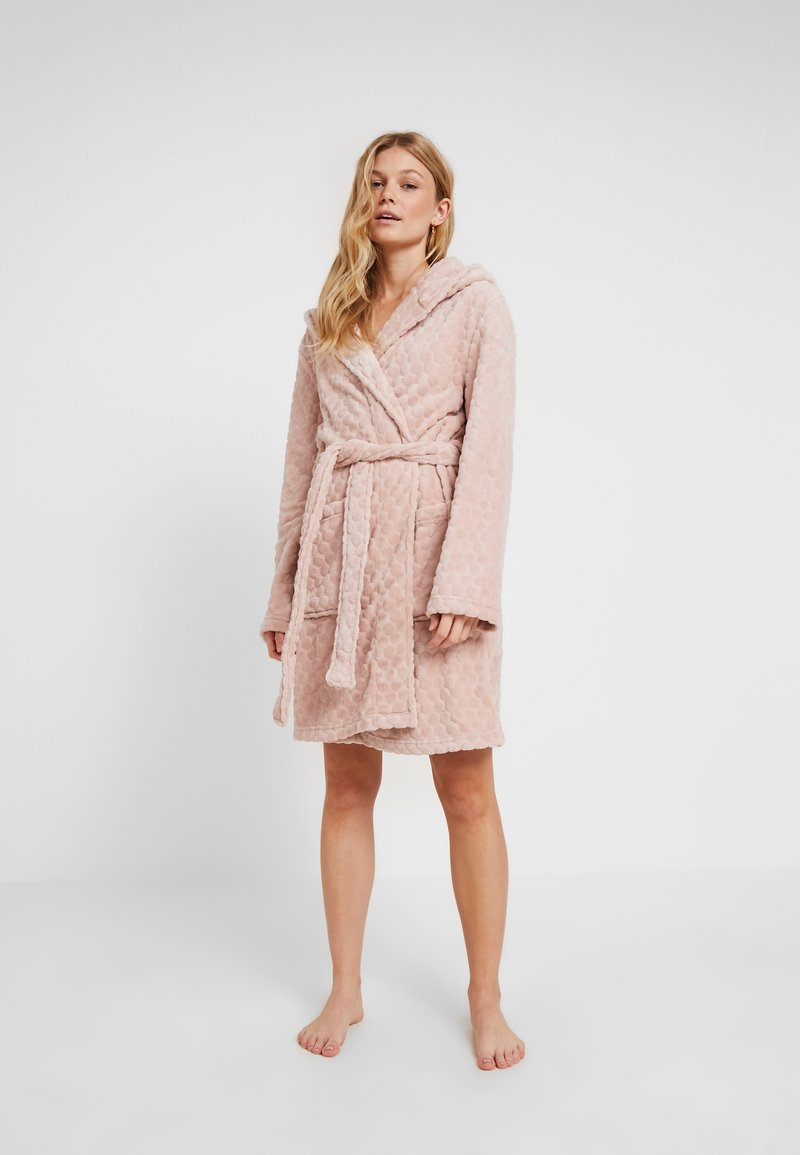 Topshop - SPOT ROBE - Bademantel - ice pink