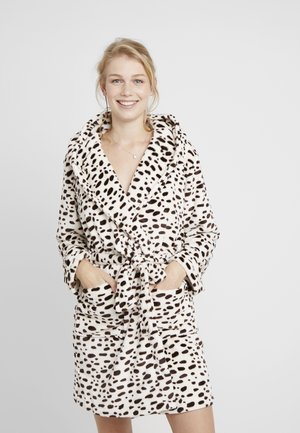 LEOPARD PRINT SHORT ROBE - Dressing gown - multi