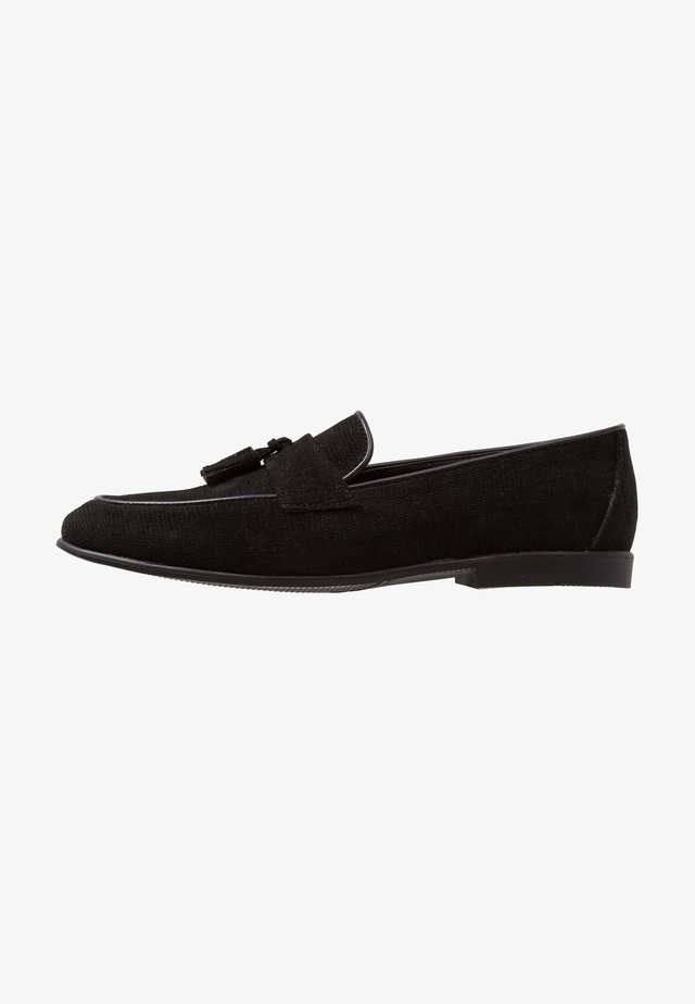 PRINCE LOAFER - Smart slip-ons - black