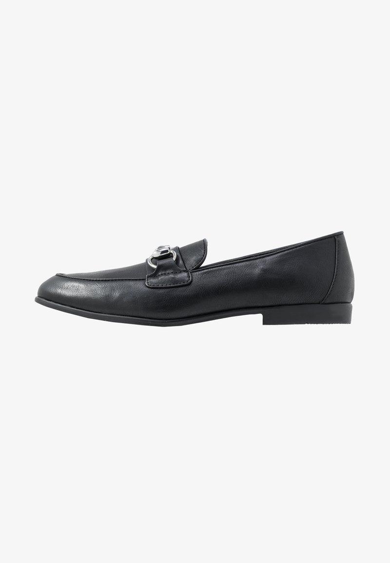 Topman - ARLO SNAFFLE - Mocasines - black