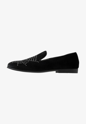 WITH SPIDER WEB STUDS - Slipper - black
