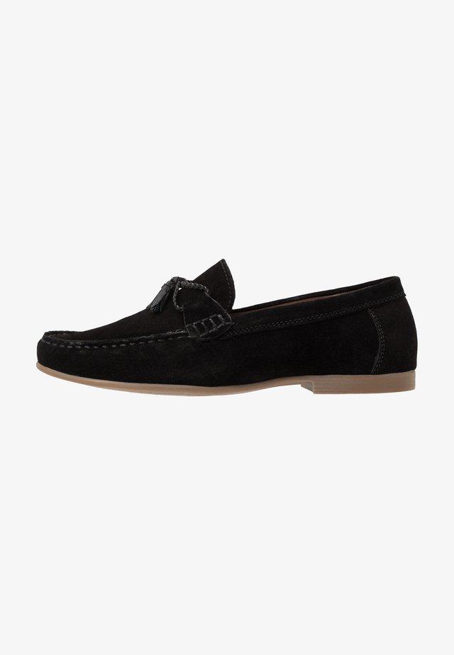 MALIK - Nazouvací boty - black