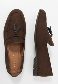 Topman - PIPER - Smart slip-ons - brown - 1