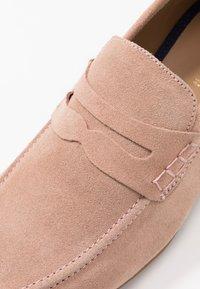 Topman - COLBURN - Slip-ons - pink - 5