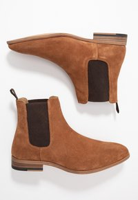 Topman - FENN CHELSEA - Bottines - tan - 1