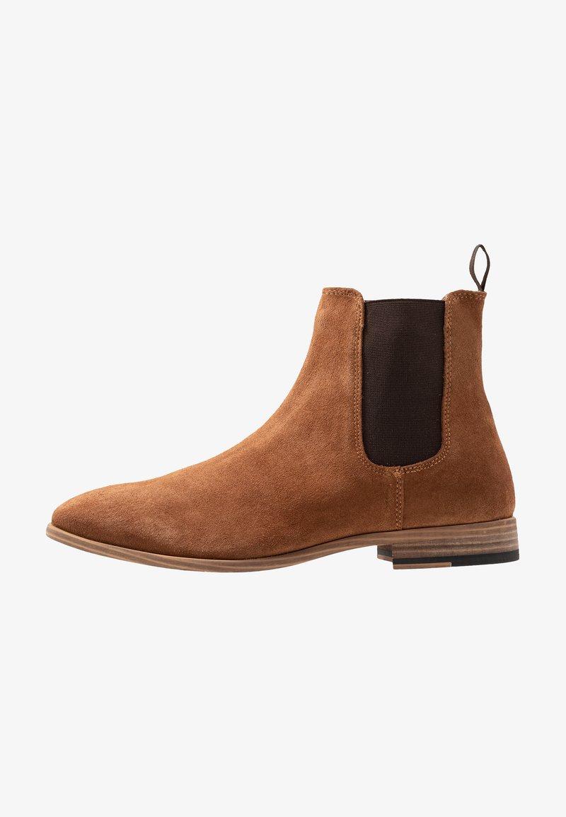 Topman - FENN CHELSEA - Kotníkové boty - tan