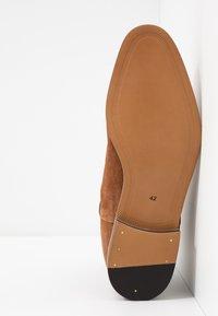 Topman - FENN CHELSEA - Kotníkové boty - tan - 4