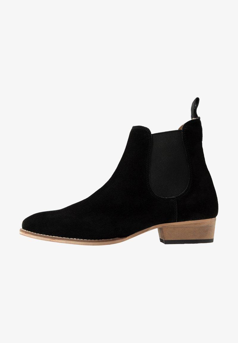 Topman - REIN CUBAN - Classic ankle boots - black