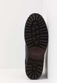 Topman - JACKSON CUFF BOOT - Bottines à lacets - black - 4