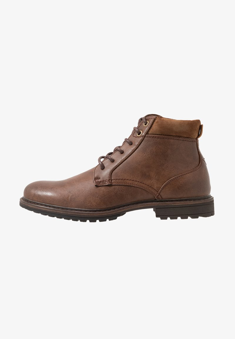 Topman - HUGIN BOOT - Stivaletti stringati - brown