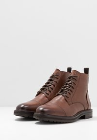 Topman - ORBIS HERITAGE BOOT - Lace-up ankle boots - brown - 2